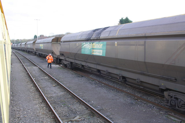 Freightliner Heavy Haul wagons by charter train