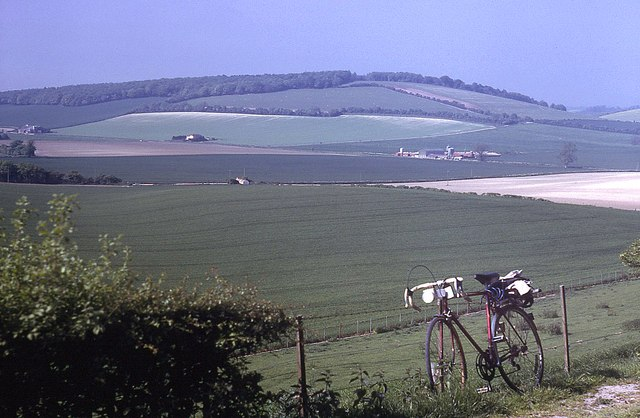 Farmland north of Teglease Down