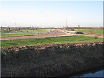 SK7353 : View along one of the straights at Southwell Racecourse by Jonathan Thacker