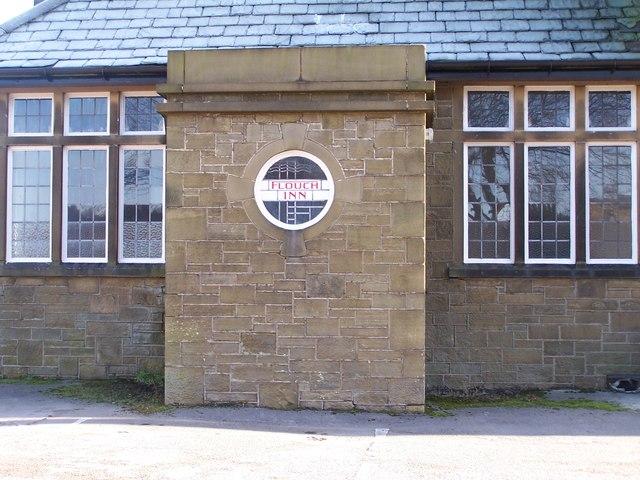 Window detail at The Flouch Inn, Hazlehead, near Sheffield - 1