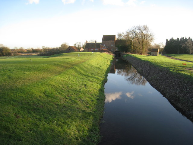 The River Greet and Rolleston Mill