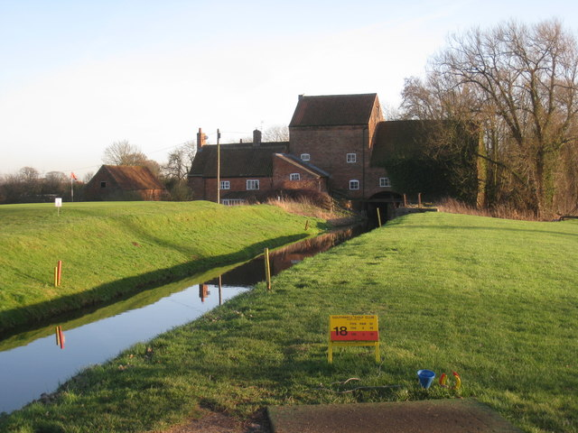 The River Greet, Rolleston Mill and Southwell Golf Course