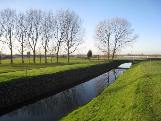 The River Greet, Southwell golf course and Southwell racecourse