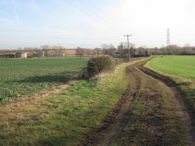 The bridleway to Fiskerton