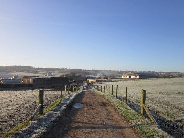 Scholebrook Farm from Scholebrook Lane