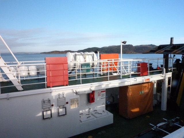 The Tarbert to Portavadie ferry