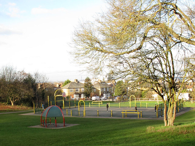 Ball court in Frank's Park