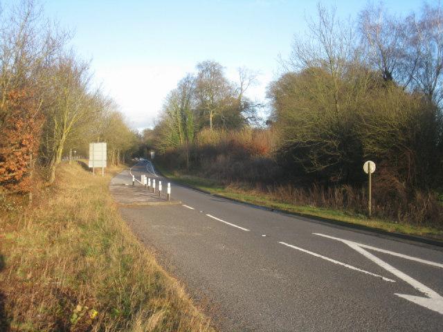 A30 leaving Basingstoke