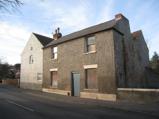 Derelict house, Easthorpe