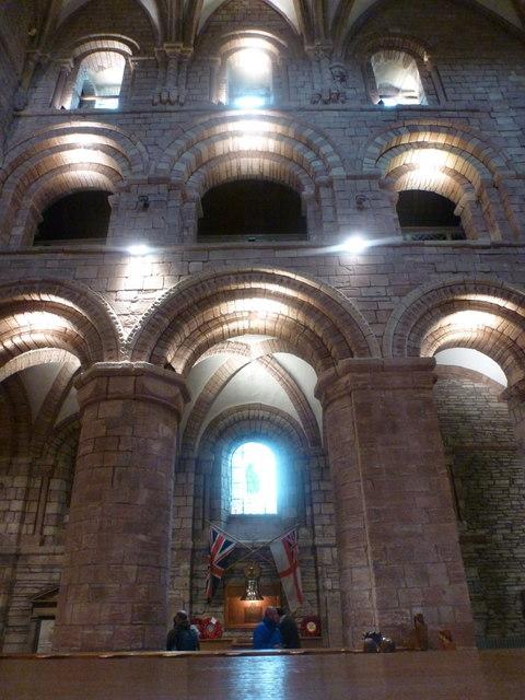 Kirkwall: cathedral stonework