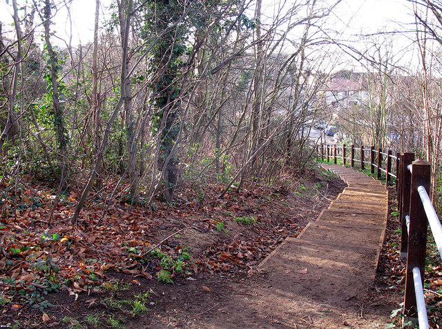New steps on the Green Chain Walk