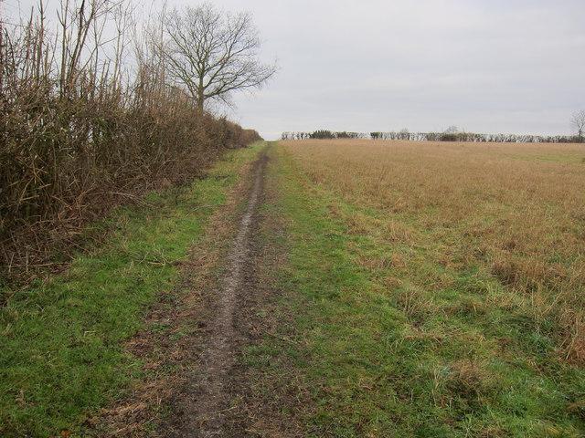 Footpath to Wardy Hill