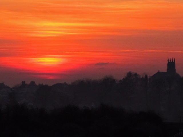Clackmannanshire sunset