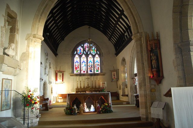 The Chancel, St George's church, Brede