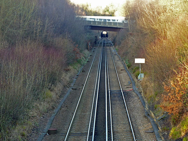 Hastings line south of Somerhill Tunnel