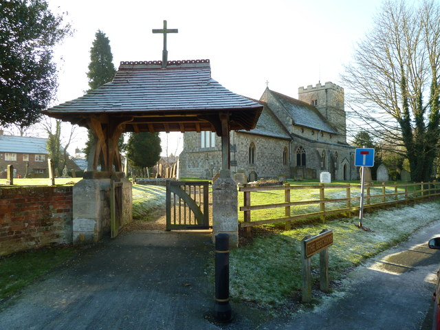 Lychgate at St Mary the Virgin