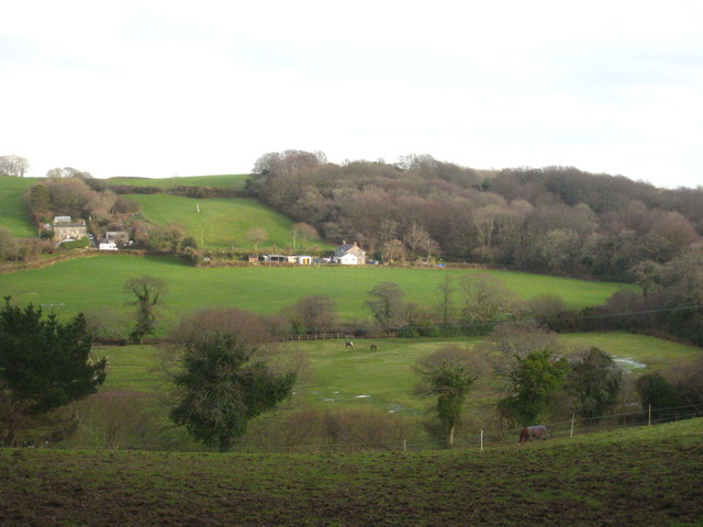Fields east of Lanlivery