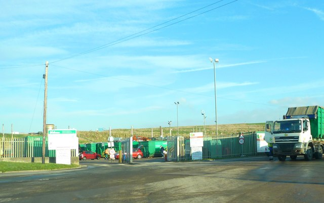 Waste Recycling centre, Jameson Road
