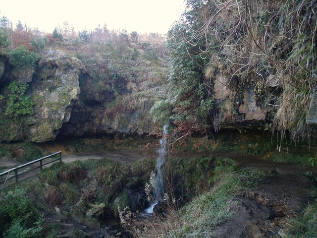 Waterfall, Maspie Den