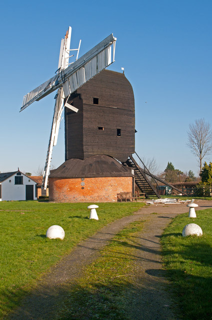 Outwood Mill - storm damage