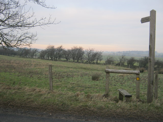 Footpath from Rutherford Lane to Green Gill Farm and beyond