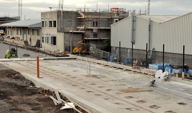 New train maintenance depot, Belfast (30)