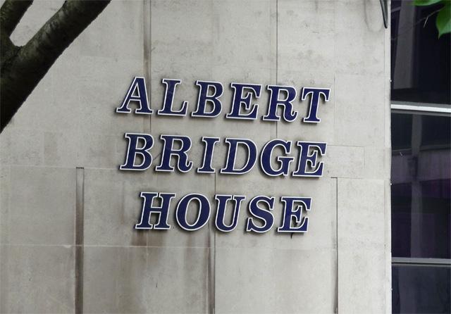 Detail of Albert Bridge House, Bridge Street, Manchester