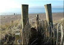 NS3230 : Beach Access Point by Mary and Angus Hogg
