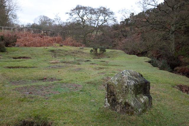 Stone at Fairy Call Bridge