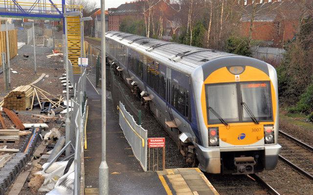 Train, Adelaide, Belfast