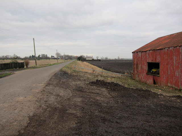 Barn on Straight Road