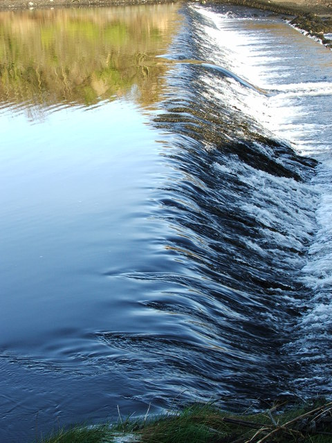 Weir on River Coquet - Warkworth