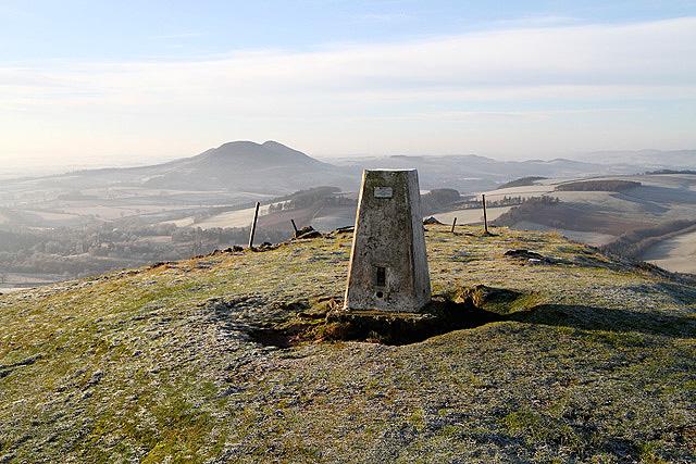 The Black Hill triangulation pillar