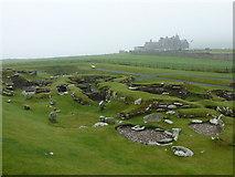HU3909 : Jarlshof: Bronze Age remains by Chris Downer