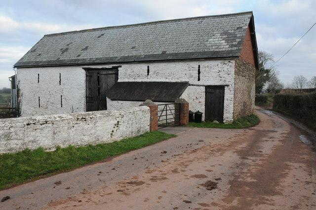 Barn at Pentre-Gwyddel