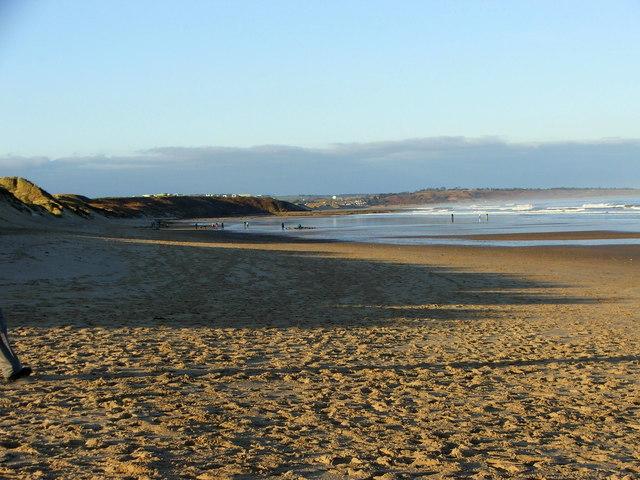 Fairly deserted Warkworth Beach