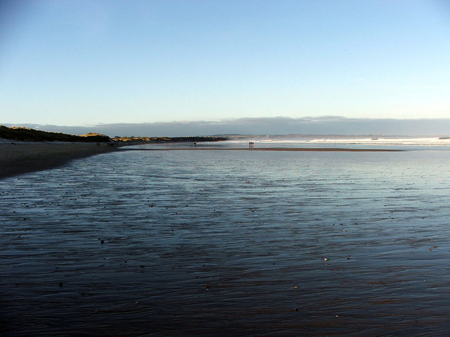 Low Tide on Warkworth Beach