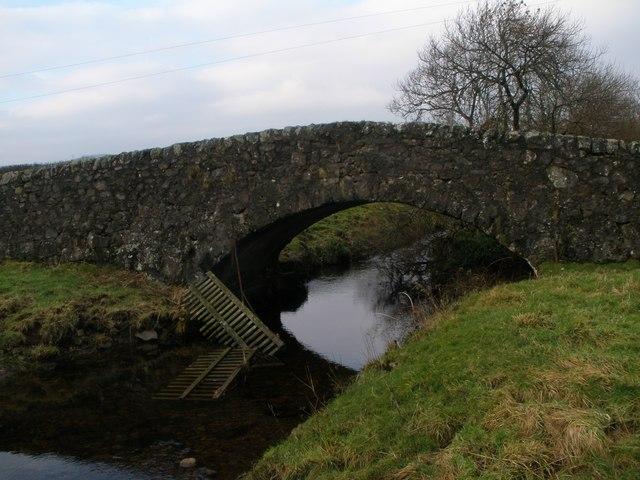 Burnbank Bridge over the Green Water