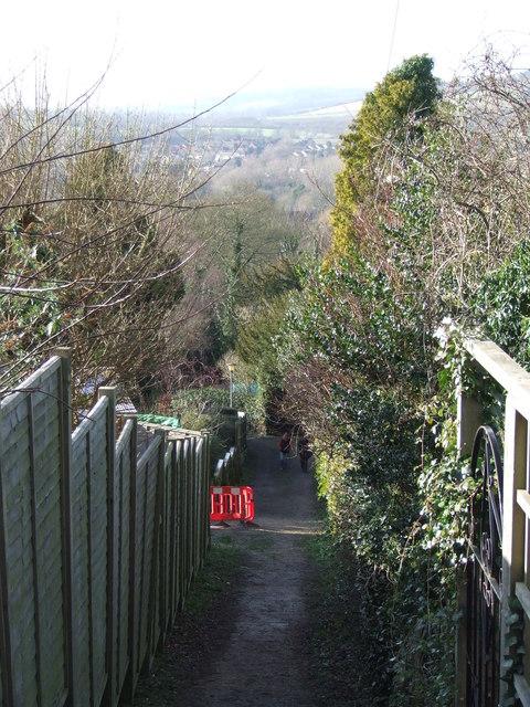 North Downs Way at Otford