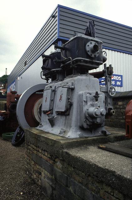Brook Pumping Station - steam engine