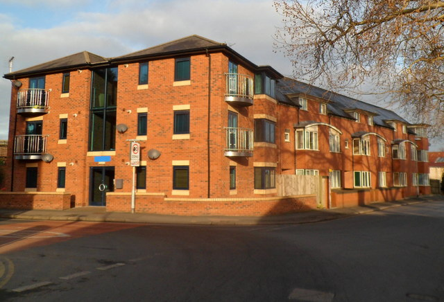Charles Court flats, Hereford