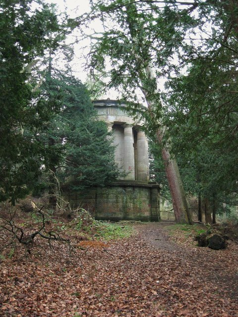 Forbes Mausoleum by Callendar House