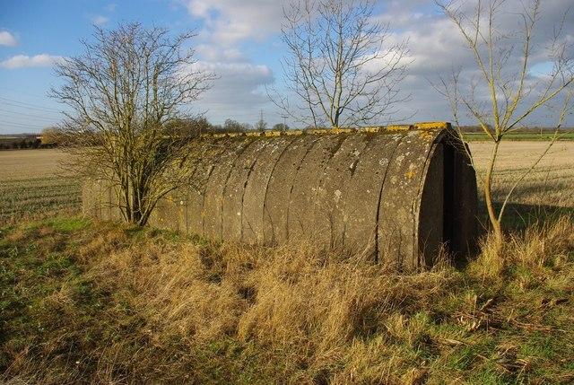 Concrete hut