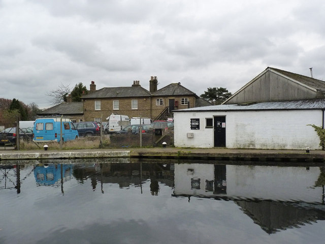 Former canal buildings