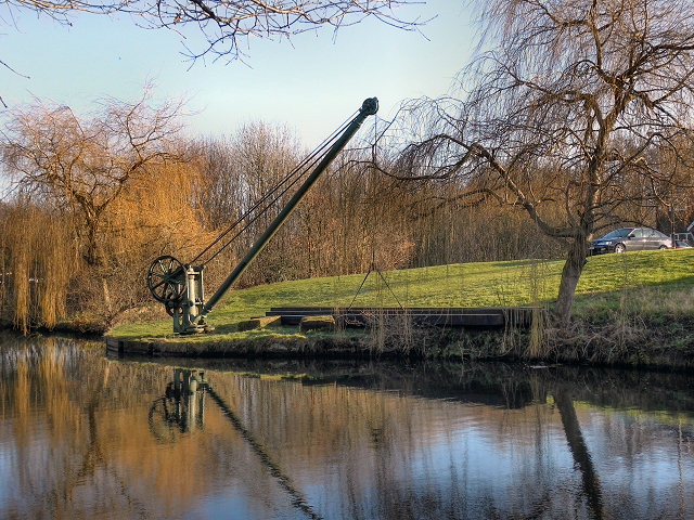 Crane and Boards, Bridgewater Canal