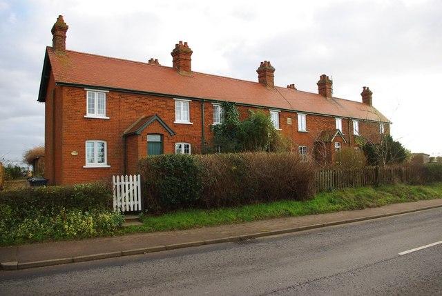 Terrace on Sandy Road, Everton