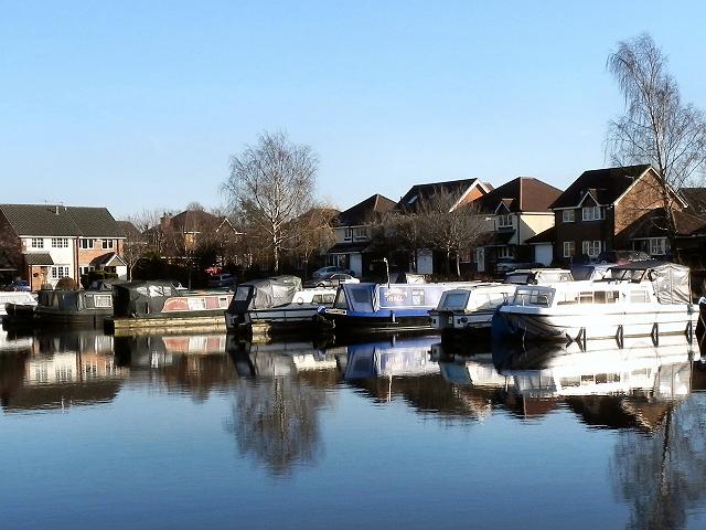 Bridgewater Canal, Marina at Oldfield Brow