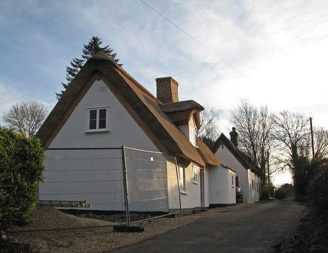 Restored cottage on Dock Lane