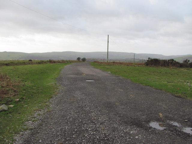 Ogwr Ridgeway Walk west of Blackmill