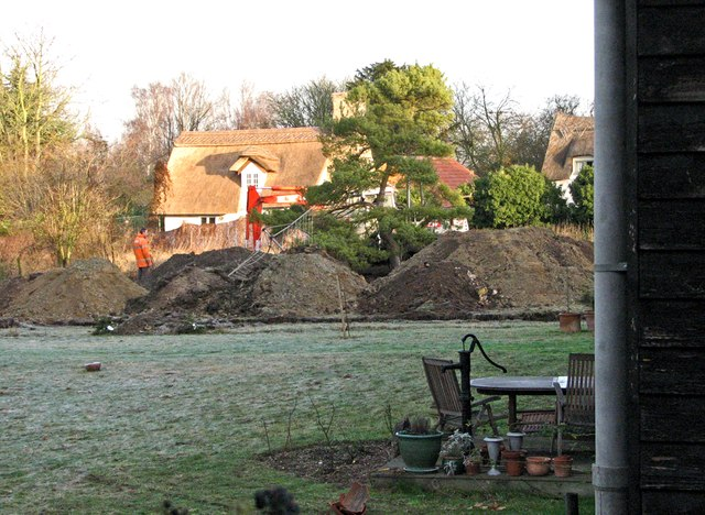 Building work on Dock Lane